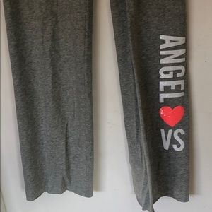Victoria's Secret  Grey sweat lounge pants.